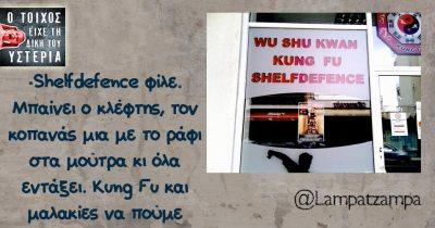 -Shelfdefence φίλε